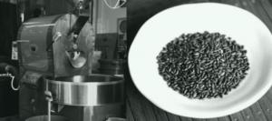 玄米コーヒーの焙煎方法