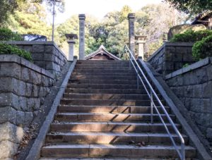 五所八幡の階段