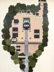五所八幡宮全体マップ